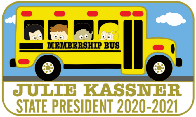School Bus Pin